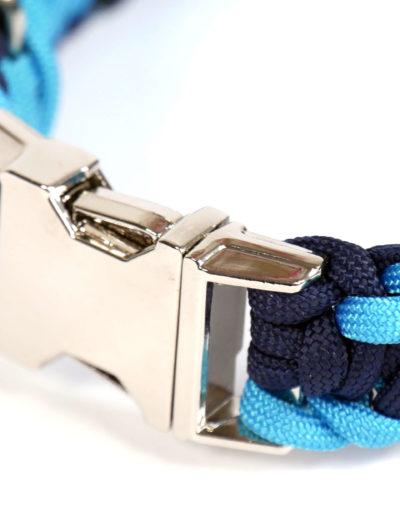 Navy-modrý obojek