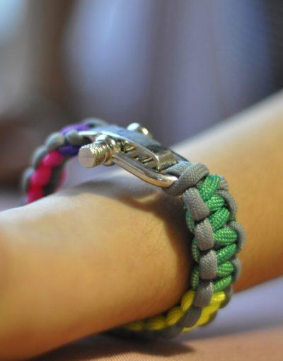Stříbrno-duhová kobra